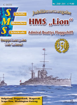 "HMS ""Lion"" Admiral Beattys Flaggschiff"